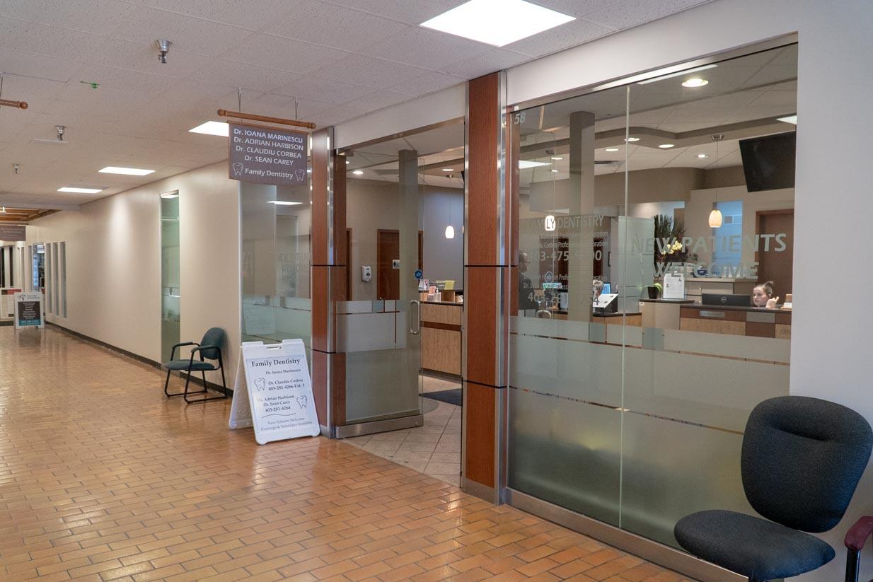 Oakridge Crossing Dental | Entrance