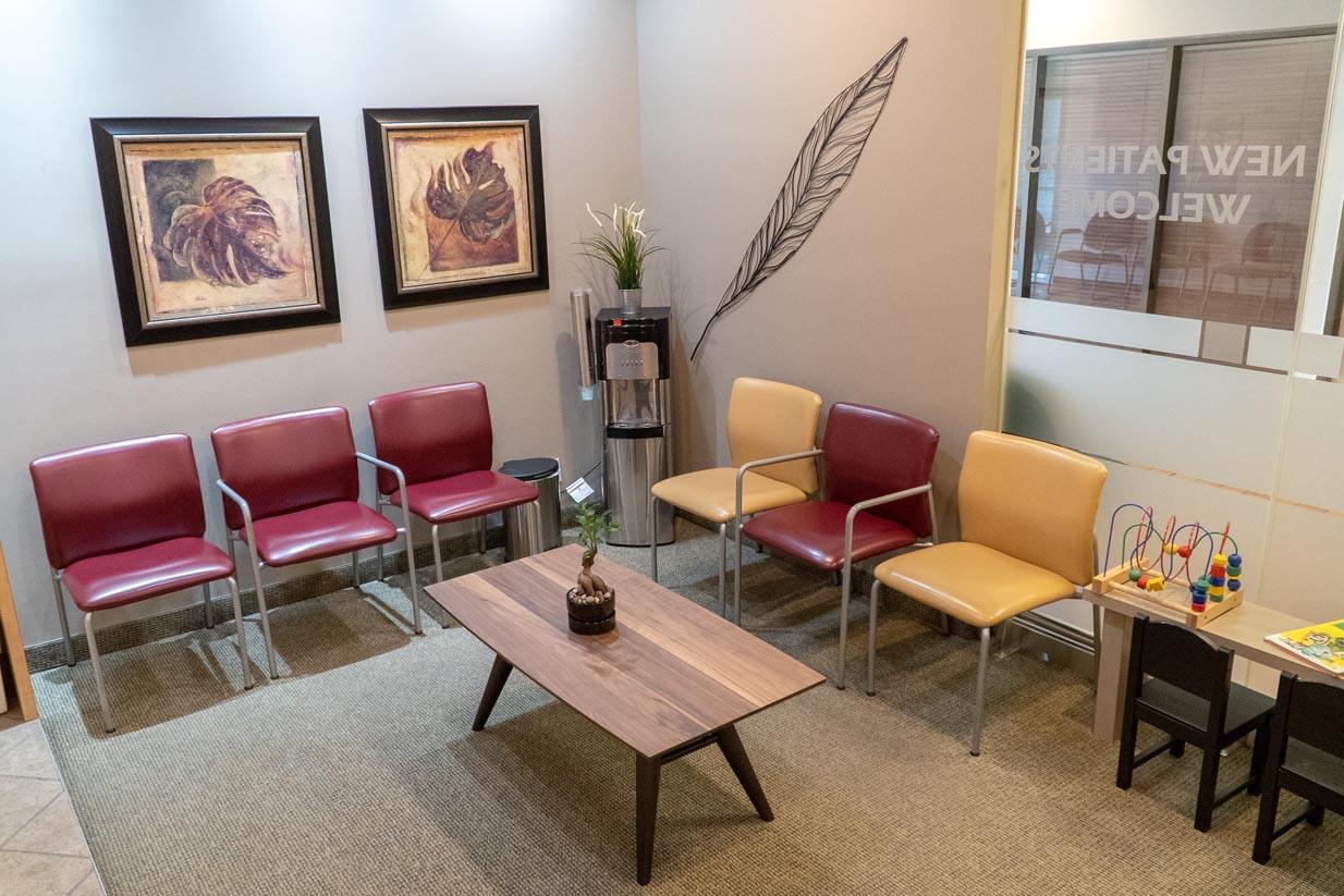 Oakridge Crossing Dental | Patient Waiting Area